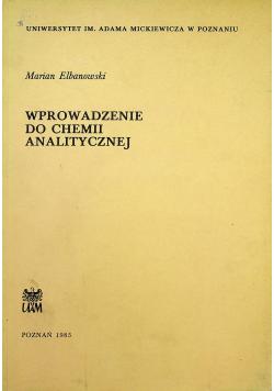 Wprowadzenie do chemii analitycznej