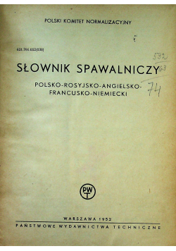 Słownik spawalniczy