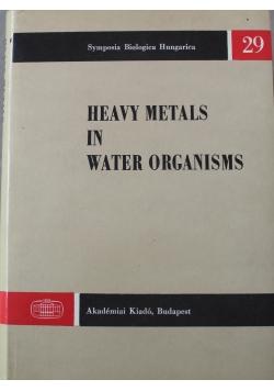 Heavy Metals in Water Organisms