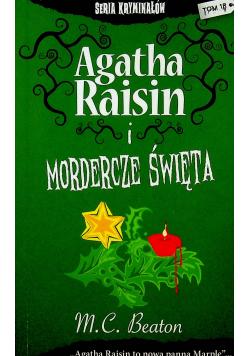 Agatha Raisin i mordercze święta Wersja kieszonkowa