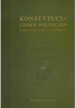 Konstytucja ustrój polityczny system organów państwowych