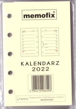 Kalendarz 2022 wkład A7 MEM/M/TNS