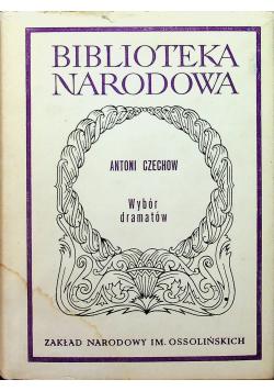 Czechow Wybór dramatów
