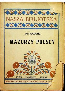 Mazurzy pruscy 1926r