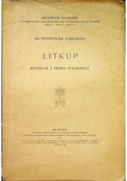 Litkup Studym z prawa polskiego 1906 r.