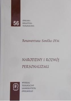 Wydział Teologiczny Uniwersytetu Opolskiego - Narodziny i rozwój personalizmu
