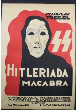 Hitleriada Macabra 9 karykatur 1946 r. UNIKAT