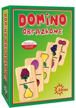 Domino obrazkowe - owoce ABINO
