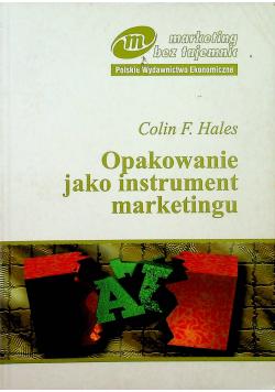 Opakowanie jako instrument marketingu