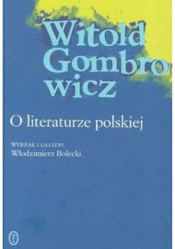 O literaturze polskiej
