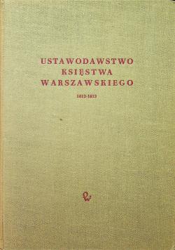 Ustawodawstwo Księstwa Warszawskiego