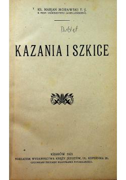Kazania i szkice 1921 r.