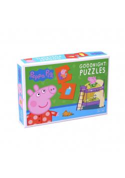 Puzzle na Dobranoc Świnka Peppa 20 el.