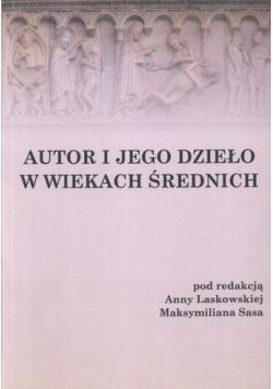 Autor i jego dzieło w wiekach średnich
