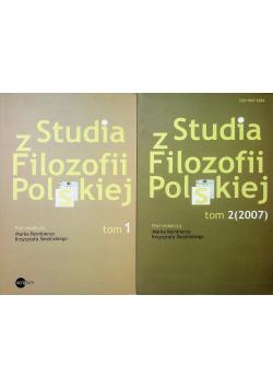 Studia z filozofii Polskiej Tom od I do II