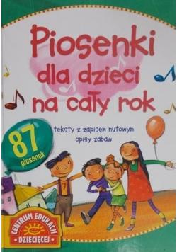 Piosenki dla dzieci na cały rok