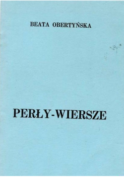 Perły- wiersze