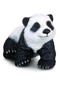 Niedźwiadek pandy wielkiej siedzący