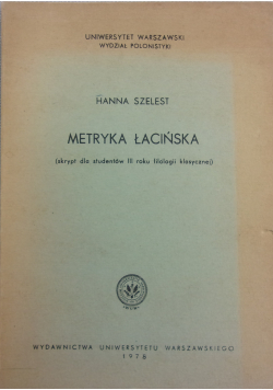 Metryka łacińska
