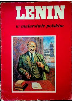 Lenin w malarstwie polskim