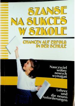 Szanse na sukces w szkole