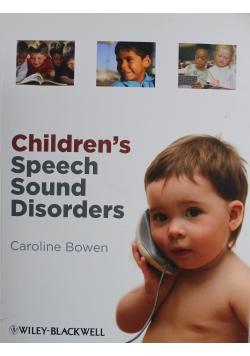 Childrens Speech Sound Disorders