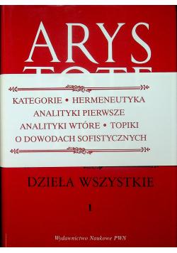 Arystoteles Dzieła wszystkie 1
