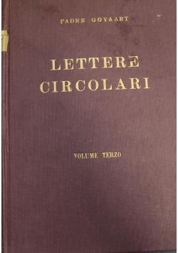 Lettere Circolari volume terzo