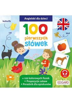 Angielski dla dzieci 100 pierwszych słówek Fiszki