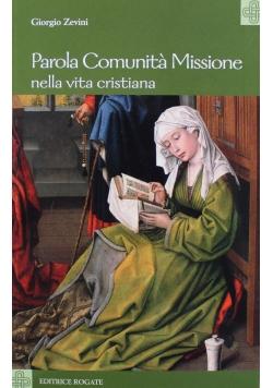 Parola Comunita Missione nella vita cristiana