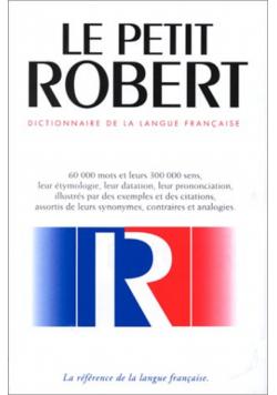 Le Nouveau Petit Robert Dictionnaire De La Langue