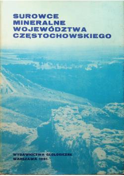 Surowce mineralne województwa Częstochowskiego
