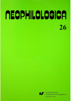 Neophilologica 26