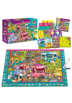 Puzzle edukacyjne Detective - Candy Fair