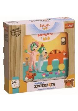 Zabawka drewniana - Poznaj zwierzęta Bobaski i Miś