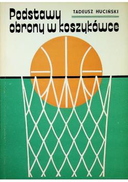 Podstawy obrony w koszykówce plus autograf Huciński