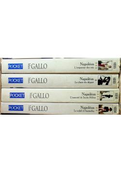 Napoleon Coffret en 4 volumes 4 tomy