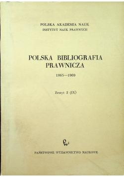 Polska bibliografia prawnicza Zeszyt 2