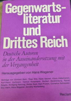 Gegenwartsliteratur und Drittes Reich