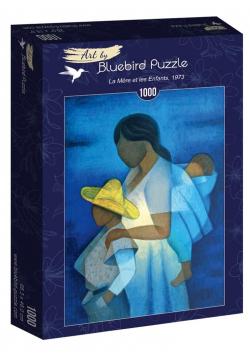 Puzzle 1000 Louis Toffoli, Matka z dziećmi,1973