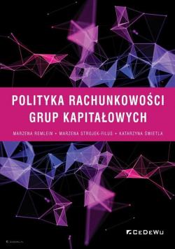 Polityka rachunkowości grup kapitałowych