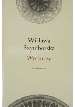 Szymborska Wystarczy