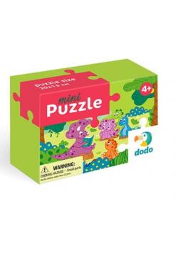 Puzzle 35 mini Dino i przyjaciele