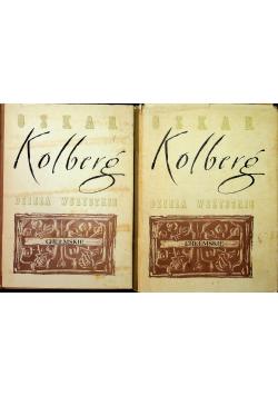 Kolberg Dzieła wszystkie Tom 33 i 34 reprint z około 1891r