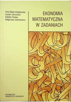 Ekonomia matematyczna w zadaniach