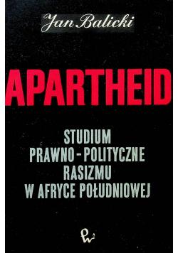 Apartheid studium prawno polityczne