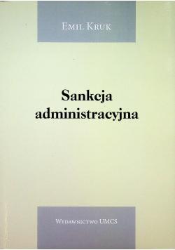 Sankcja administracyjna