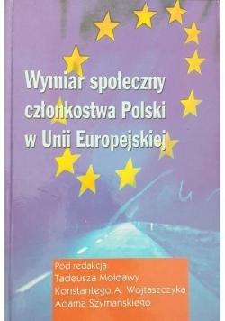 Wymiar społeczny członkostwa polski w Unii Europejskiej
