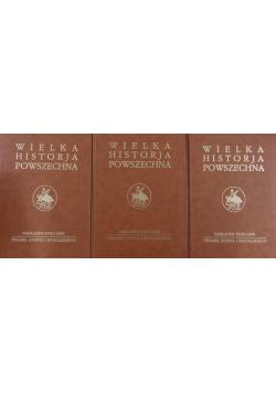Wielka historja powszechna część od 1 do 3 tomu III Reprint z 1934 r