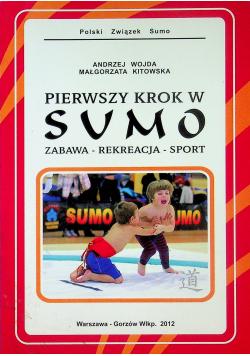 Pierwszy krok w sumo